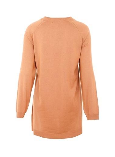 Butik Triko 2316 Basic Bluz Hardal
